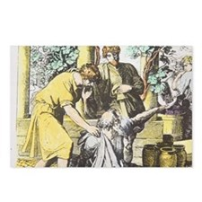 Noah drunken with sons, H Postcards (Package of 8)
