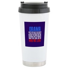 Obama Equality Travel Mug