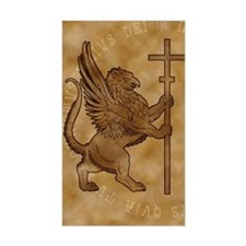 Griffin Rectangle Decal