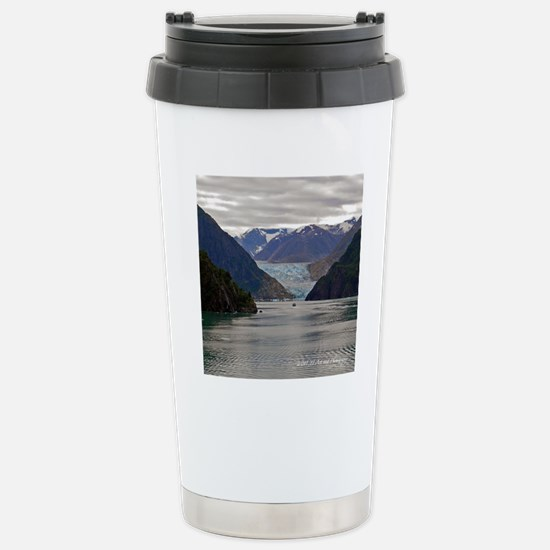 Tracy Arm Glacier Stainless Steel Travel Mug