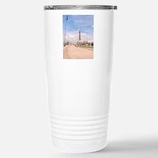 Blackpool Tower and Oar Travel Mug