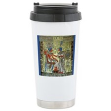 Tutankhamons Throne Travel Coffee Mug
