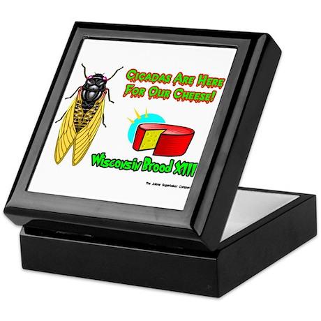 Wisconsin Cheese Cicada Keepsake Box