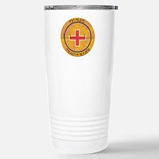 NURSE PRACTITIONER ROUN Stainless Steel Travel Mug
