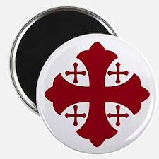 Jerusalem Cross Magnet