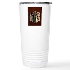 Iron pyrite crystal Travel Mug