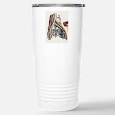 Iliac blood vessel nerv Travel Mug