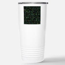 Protein folding simulat Travel Mug