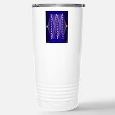 Illustration of neural  Stainless Steel Travel Mug