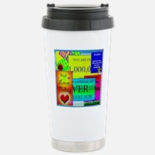 Internet 'pop-up' adver Stainless Steel Travel Mug