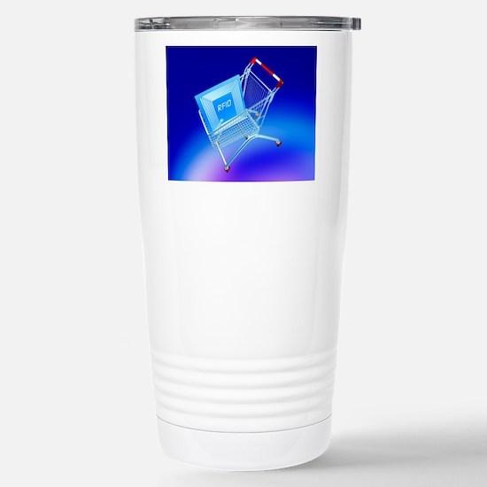 Intelligent label Stainless Steel Travel Mug