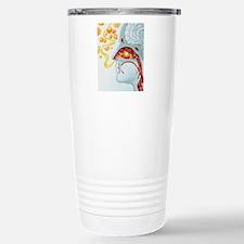 Artwork of runny nose i Stainless Steel Travel Mug