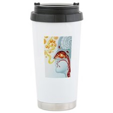 Artwork of runny nose i Travel Mug