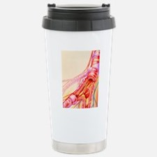 Artwork of chronic obst Stainless Steel Travel Mug