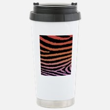 Girly Fashion Jagged Ze Stainless Steel Travel Mug