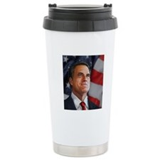 Romney Portrait Travel Mug