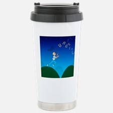 Abstract artwork of a d Travel Mug