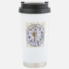 Medical zodiac, 15th ce Travel Mug