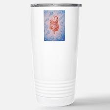 Artwork of digestive sy Stainless Steel Travel Mug