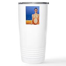 Artist's depiction of c Travel Mug