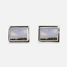 Germany Koblenz Old Town by  Rectangular Cufflinks