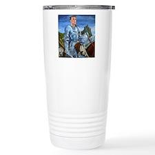 ride forth square Travel Mug