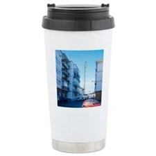 Mobile phone mast Travel Coffee Mug