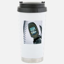 Mobile telephone Stainless Steel Travel Mug