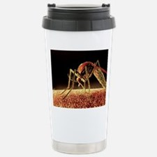 Mosquito sucking blood, Travel Mug