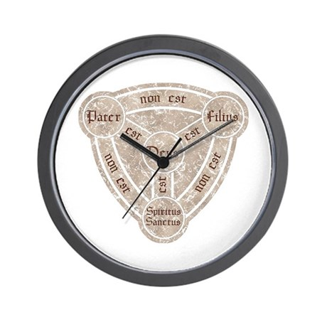 Shield of The Trinity Wall Clock