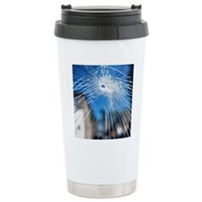 Broken glass Travel Mug