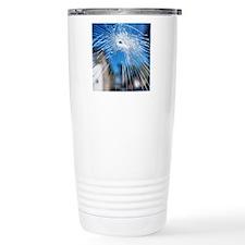 Broken glass Travel Coffee Mug