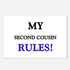 My SECOND COUSIN Rules! Postcards (Package of 8)