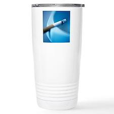 Cigarette stub Travel Coffee Mug