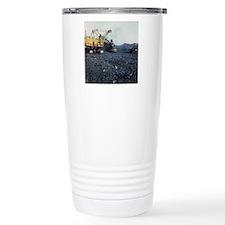 Open cast coal mining Thermos Mug