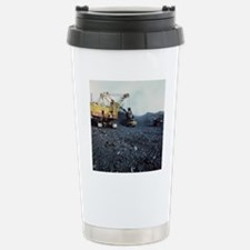 Open cast coal mining Travel Mug