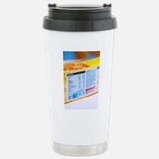 Nutrition label Stainless Steel Travel Mug