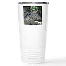 Snow Leopard Cub Travel Mug