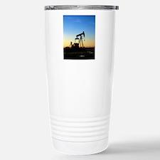 Oil well pump Stainless Steel Travel Mug
