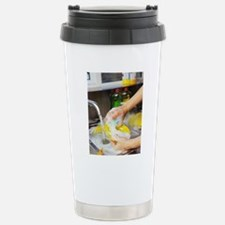 Cleaning the dishes Stainless Steel Travel Mug