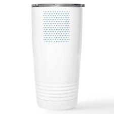 Blue Polka Dot Travel Mug