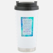 Darcy Quote Travel Mug