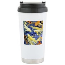 Dancing Koi Travel Coffee Mug