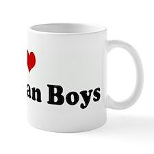 I Love Bahamian Boys Mug