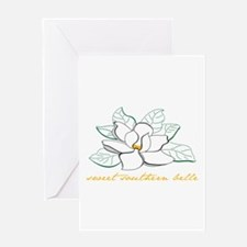 Sweet southern belle Greeting Cards