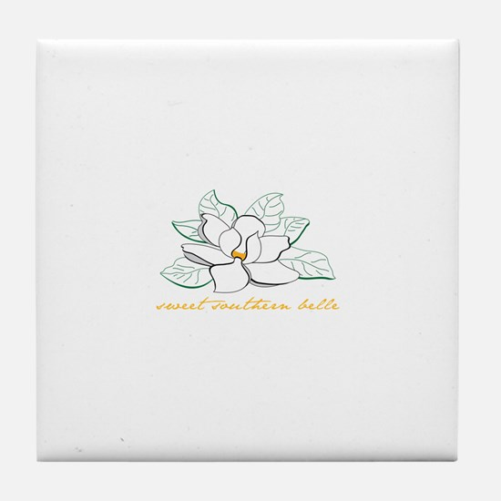 Sweet southern belle Tile Coaster