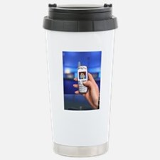 Personalised virtual av Stainless Steel Travel Mug