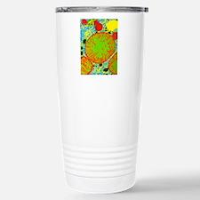 Coloured TEM of mammali Travel Mug