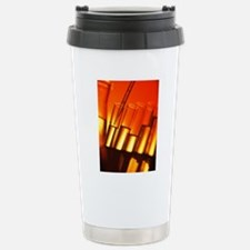 Pipette and test tubes Travel Mug