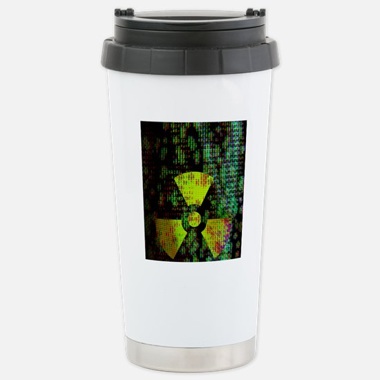 Radiation hazard Stainless Steel Travel Mug